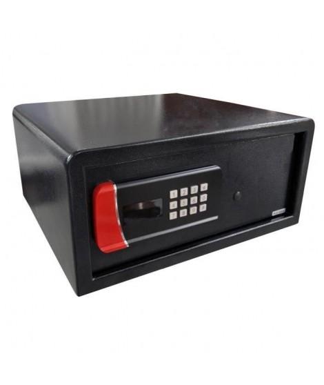 ELEM TECHNIC Coffre-fort de sécurité électronique 25 L 20x43x38 cm