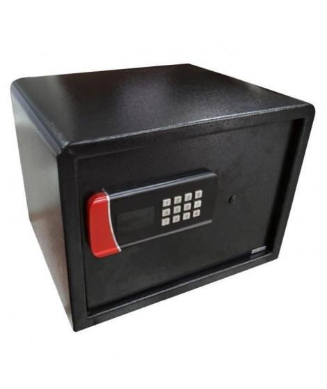 ELEM TECHNIC Coffre-fort de sécurité électronique 32 L 29,5x40x27,5 cm