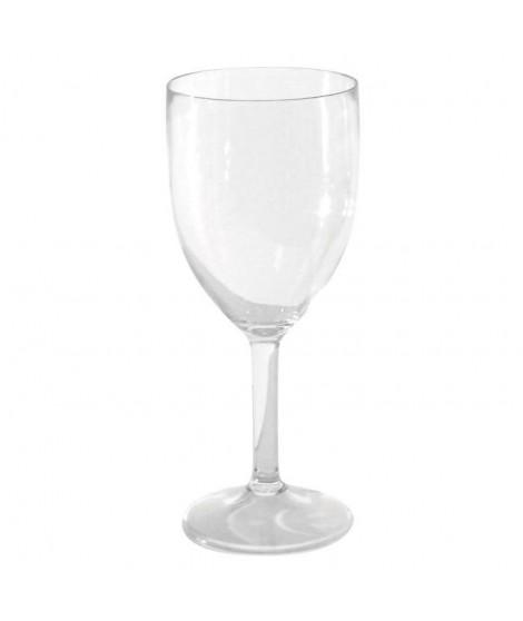 Verres a vin polycarbonate x 3