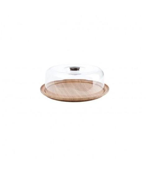 AERTS Plat a tarte avec cloche - 30,5 x 10,5 cm - buffet