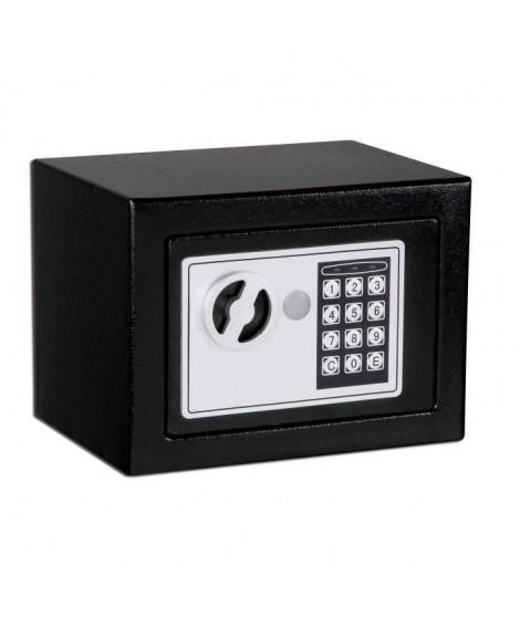 ELEM TECHNIC Coffre-fort de sécurité électronique 2,9 L 17x23x17 cm
