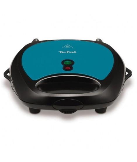 TEFAL SW617412 Croque gaufres Simply Compact - Panini grill et gaufre - Plaques amovibles - Housse de rangement incluse