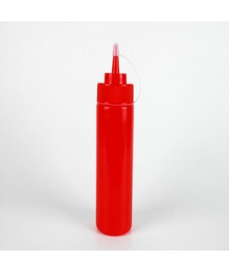 AERTS Flacon souple avec bouchon - 0,72 L - En plastique - Rouge