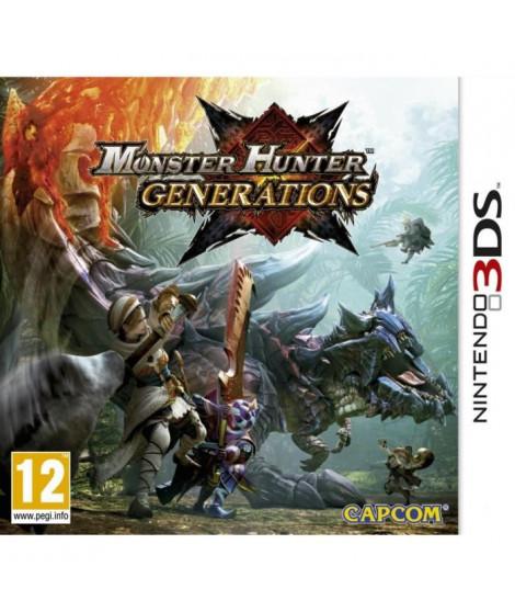 Monster Hunter Generations Jeu 3DS