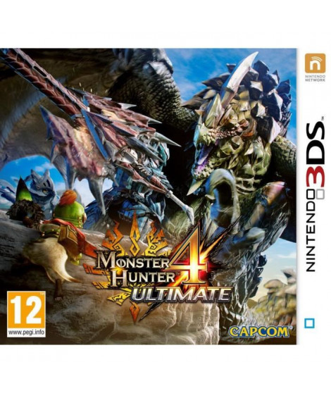 Monster Hunter 4 Ultimate Jeu 3DS