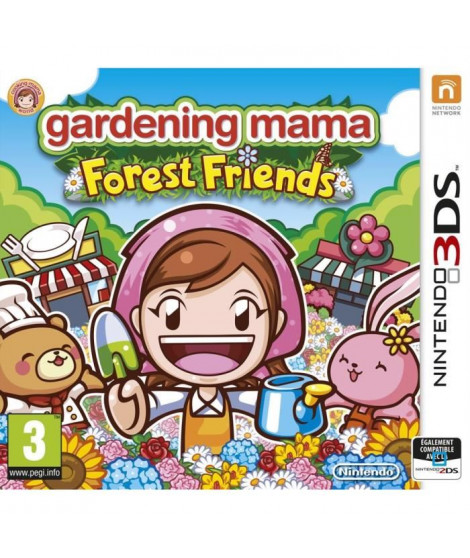 Gardening Mama - Forest Friends Jeu 3DS