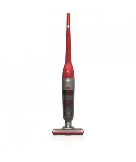 DIRT DEVIL DD691 Aspirateur balai sans sac ? 18V ? 600 ml ? Rouge