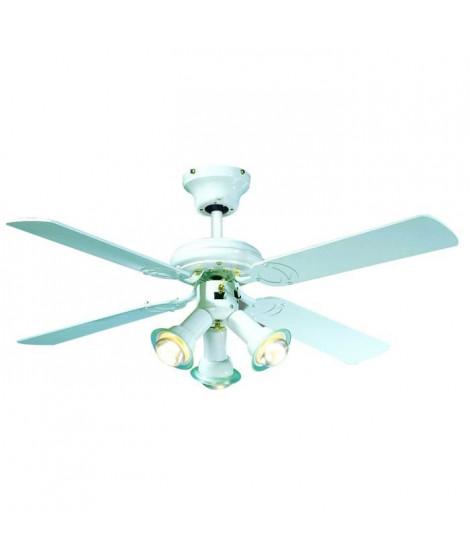 Ventilateur de plafond  Ø 107 cm, 3 spots