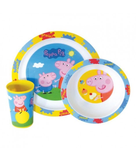 PEPPA PIG Ensemble Lunch 3 pieces
