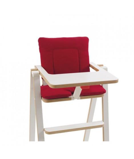 SUPAFLAT Coussin Pour Chaise Haute Rouge