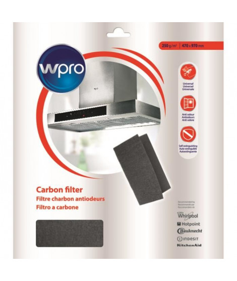 WPRO UCF016 filtre universel pour hotte