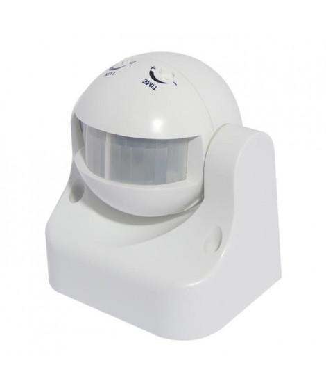 CHACON Détecteur de mouvement PIR 180° sans fil blanc