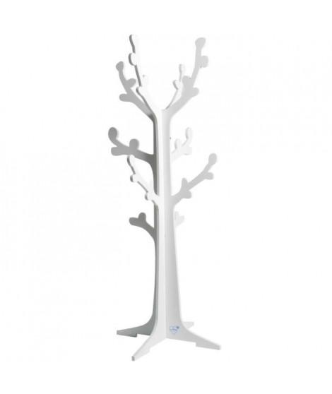 DOMIVA Porte Manteaux Cerisier Blanc