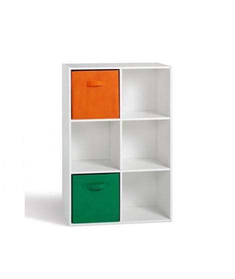COMPO Cube 6 cases Blanc