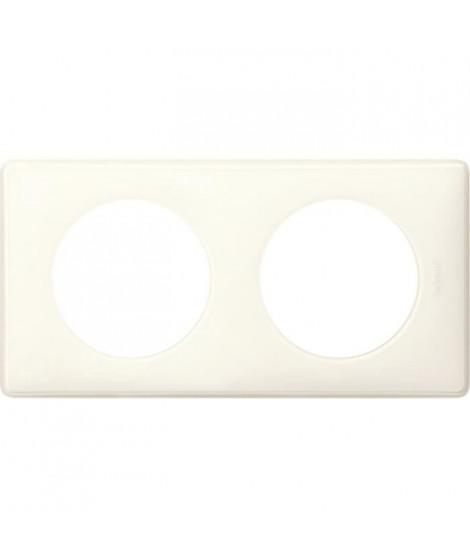 LEGRAND Celiane Plaque de finition 2 postes blanc yesterday