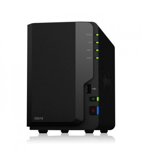 SYNOLOGY NAS DS218 2 baies - 1,3GHz