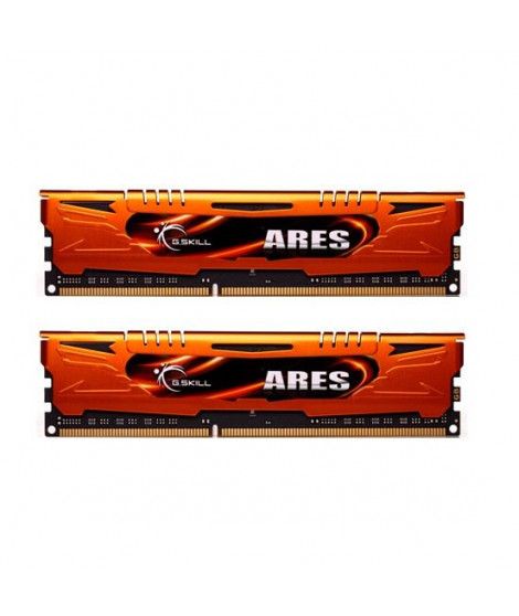 GSkill 16Go DDR3 1600MHz C10 Ares Orange