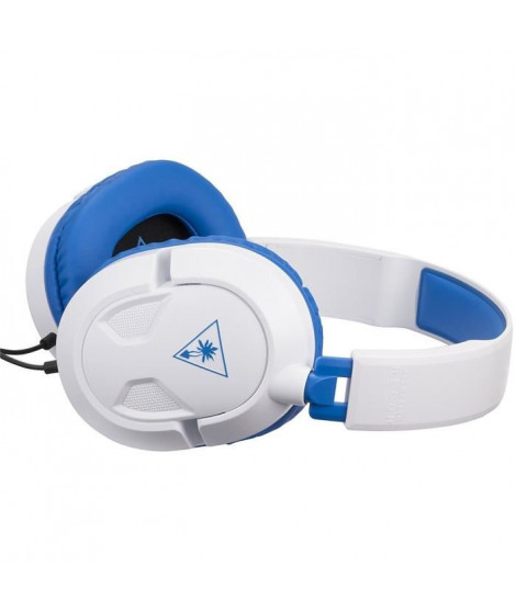 Turtle Beach Recon 60P Casque Gaming pour PS4 - Blanc