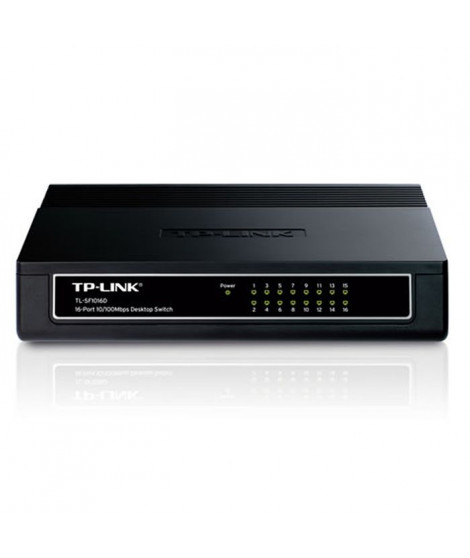 TP-Link Switch 16 PORTS 10/100 TLSF1016D