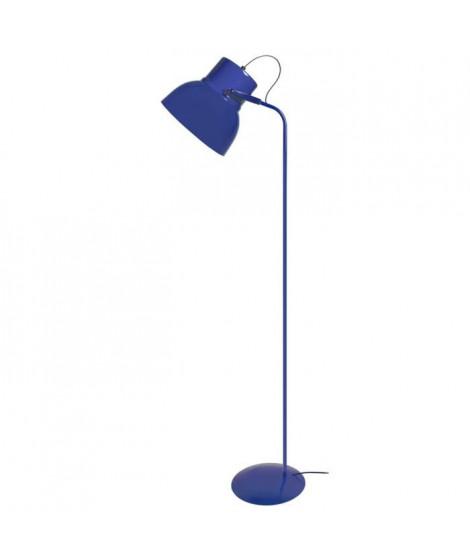 CLOCHE Lampadaire liseuse H150cm Bleu