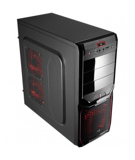 Aerocool boîtier V3X Advance Devil Rouge