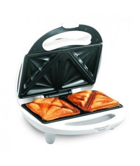 HARPER SM600WHT Sandwich maker  - 800W - Blanc