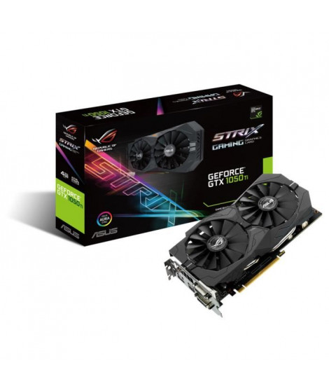 Asus Carte graphique GeForce STRIX GTX 1050 TI 4G Gaming