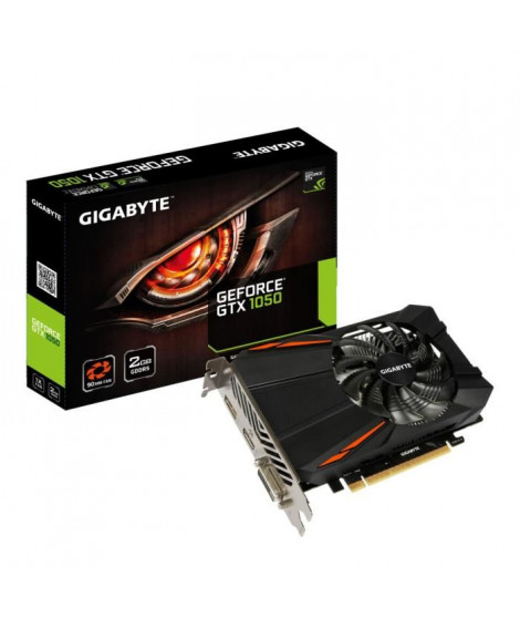 Gigabyte Carte graphique GeForce GTX 1050 D5 2Go GDDR5
