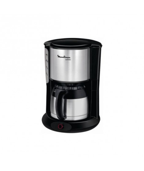 CAFETIERE - MOULINEX SUBITO ISOTHERME NOIR/INOX FT360811