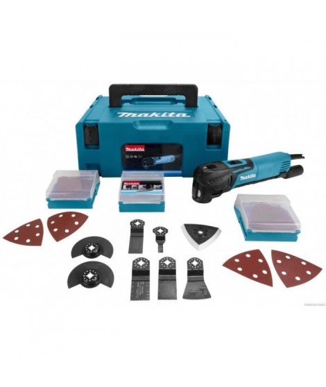 MAKITA Outil multifonctions 320W + 58 accessoires