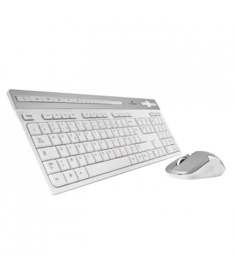 Bluestork Pack Clavier + Souris EASY III - Sans fil - PC