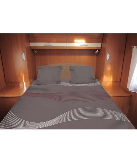 MIDLAND Lit Tout Fait 120-130x190 cm - Linge de lit camping-car