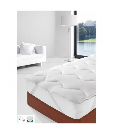 STIPI Sur-matelas Confort 4 Saisons 160x200 cm blanc
