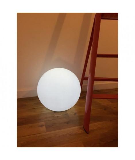 LUMISKY Sphere lumineuse E27 sur secteur 40 cm - Blanc