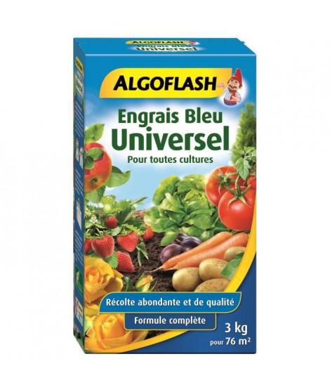 ALGOFLASH Engrais bleu Universel - 3 kg