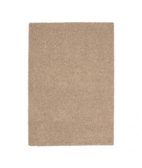 NAZAR Grand tapis Shaggy Trendy 200x280 cm beige