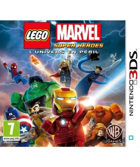 LEGO Marvel Super Hereos 2DS-3DS