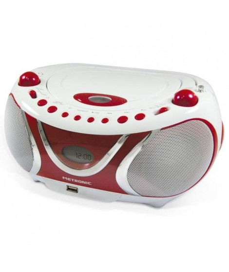 MET 477117 Radio CD-MP3 Cherry